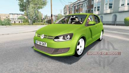 Volkswagen Polo 5-door (Typ 6R) 2010 для American Truck Simulator