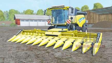 New Holland CR10.90 titanium yellꝍw для Farming Simulator 2015