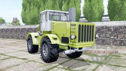Кировец К-700 в цвет июньского бутона для Farming Simulator 2017