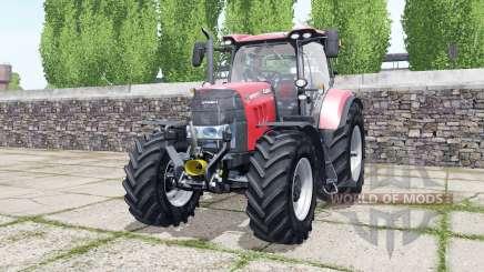 Case IH Puma 165 CVX bright red для Farming Simulator 2017