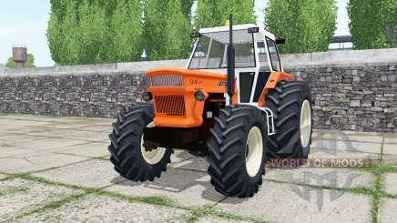 Fiat 1300 DT super vivid orange для Farming Simulator 2017