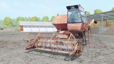 СК-5 Нива светло-оранжевый jrhfc для Farming Simulator 2015