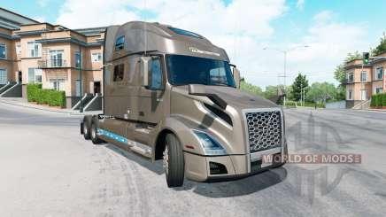 Volvo VNL 860 Globetrotter cab 2019 для American Truck Simulator