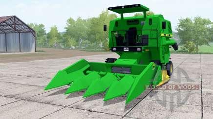 SLC 6200 green для Farming Simulator 2017