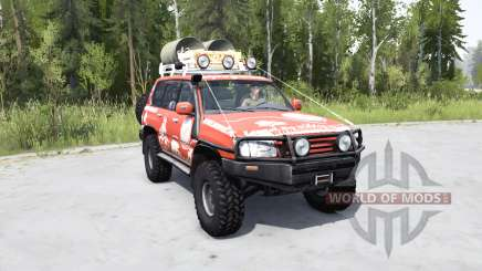Toyota Land Cruiser 100 Trophy для MudRunner