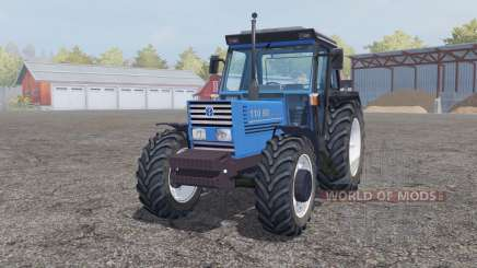 New Holland 110-90 pure cyan для Farming Simulator 2013