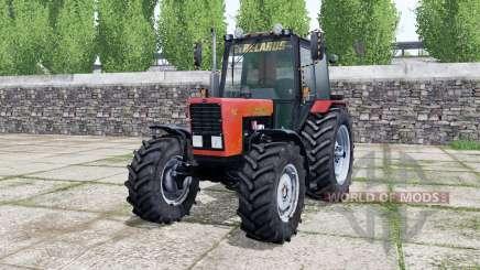 МТЗ-82.1 Беларус ярко-красный окрас для Farming Simulator 2017