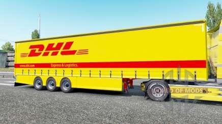 Тентованный полуприцеп для Euro Truck Simulator 2