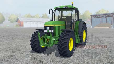 John Deere 6610 change wheels для Farming Simulator 2013