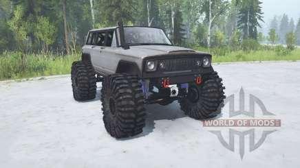 Jeep Wagoneer 1978 TTC для MudRunner