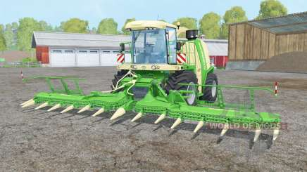 Krone BiG X 1100 double colonial white для Farming Simulator 2015