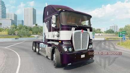 Kenworth K200 dark purple для American Truck Simulator