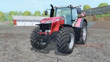 Massey Ferguson 8737 light red для Farming Simulator 2015