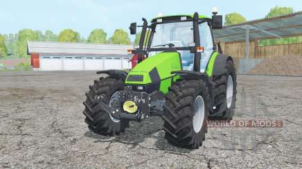 Deutz-Fahr Agrotron 120 Mk3 change wheels для Farming Simulator 2015
