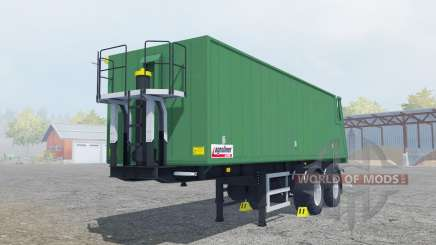 Kroger Agroliner SMK 34 green cyan для Farming Simulator 2013