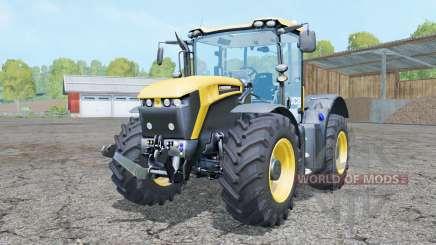 JCB Fastrac 4190 steering modes для Farming Simulator 2015