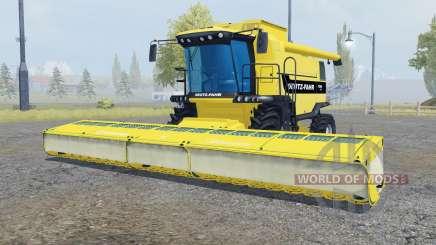 Deutz-Fahr 7545 RTS soft yellow для Farming Simulator 2013