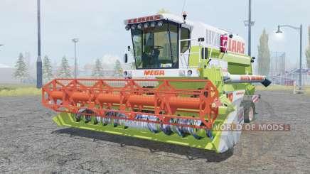 Claas Dominator 218 Mega android green для Farming Simulator 2013