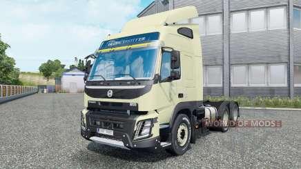 Volvo FMX 540 6x6 Globetrotter cab 2013 для Euro Truck Simulator 2