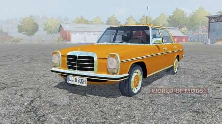 Mercedes-Benz 220D (W115) 1973 для Farming Simulator 2013