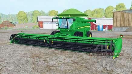 John Deere S680 pantone green для Farming Simulator 2015