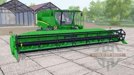 John Deere S670 header trailer для Farming Simulator 2017
