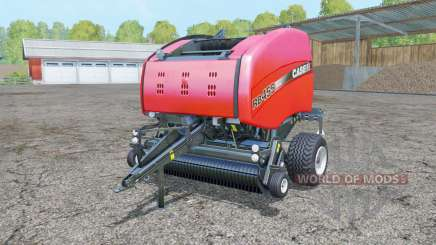 Case IH RB 465 light brilliant red для Farming Simulator 2015