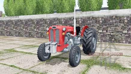 IMT 558 coral red для Farming Simulator 2017