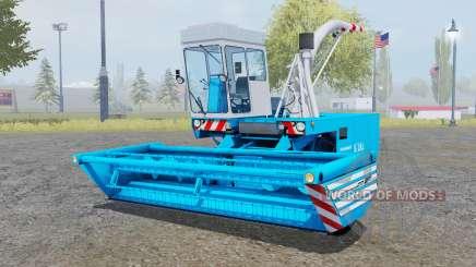 Fortschritt E-281 pure cyan для Farming Simulator 2013
