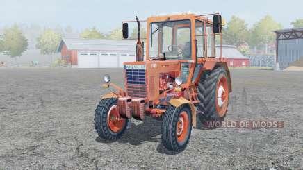 МТЗ-80 Беларус умеренно-красный для Farming Simulator 2013