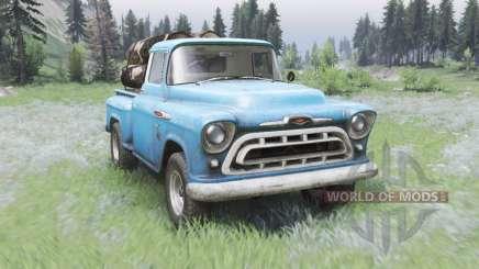 Chevrolet 3100 Stepside 1957 для Spin Tires