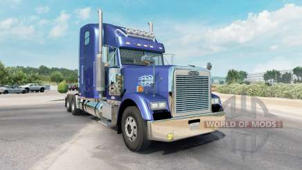 Freightliner Classic XL moderate blue для American Truck Simulator