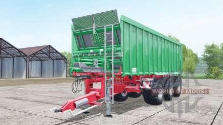 Kroger Agroliner TAW 30 lime green для Farming Simulator 2017