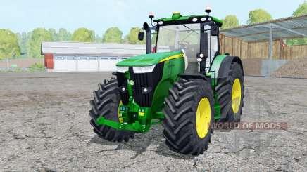 John Deere 7310R extra weights для Farming Simulator 2015