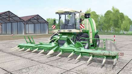Krone BiG X 750 pantone green для Farming Simulator 2017