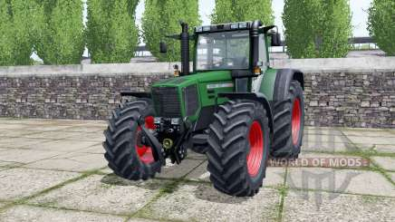 Fendt Favorit 824 dark lime green для Farming Simulator 2017