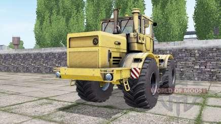 Кировец К-700А жёԓтый для Farming Simulator 2017