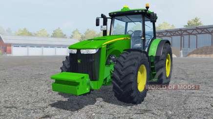 John Deere 8360R vivid malachite для Farming Simulator 2013