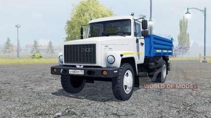 ГАЗ САЗ 35071 белый окрас для Farming Simulator 2013