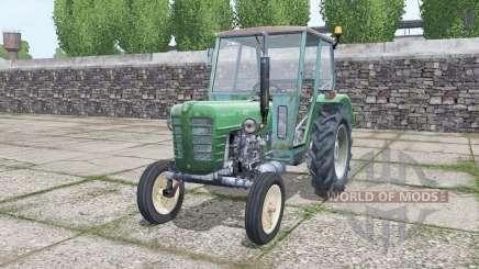 Ursus C-4011 green cyan для Farming Simulator 2017