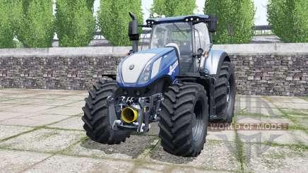 New Holland T7.315 chip tuning для Farming Simulator 2017