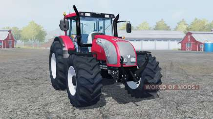Valtra T182 bright red color для Farming Simulator 2013