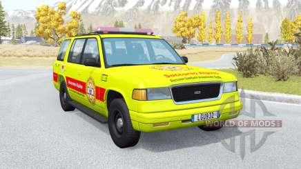 Gavril Roamer Soccorso Alpino v1.2 для BeamNG Drive