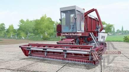 Амур 680 ярко-бордовый для Farming Simulator 2017