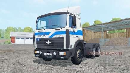МАЗ-642208 белый окрас для Farming Simulator 2015