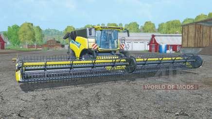 New Holland CR10.90 pure yellow для Farming Simulator 2015