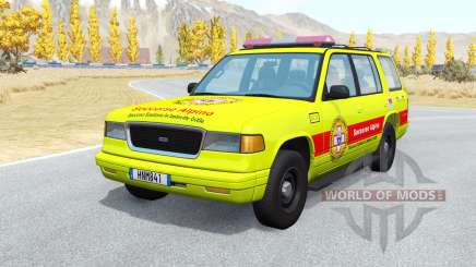 Gavril Roamer Soccorso Alpino v1.1 для BeamNG Drive