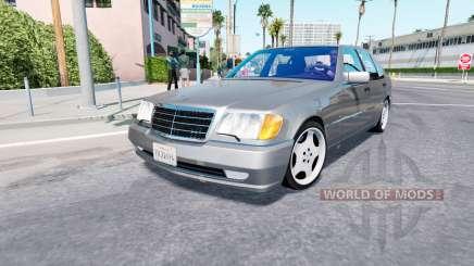 Mercedes-Benz S70 AMG (W140) для American Truck Simulator