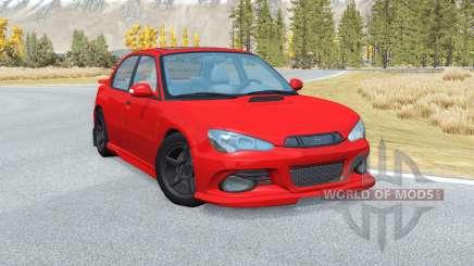 Hirochi Sunburst Sport RS v2.9 для BeamNG Drive