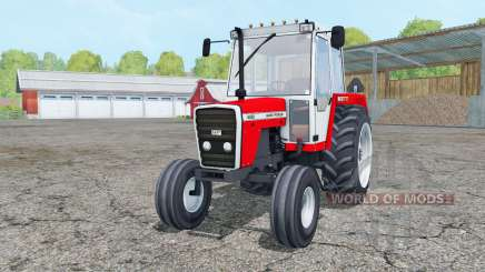 Massey Ferguson 698 red and white для Farming Simulator 2015